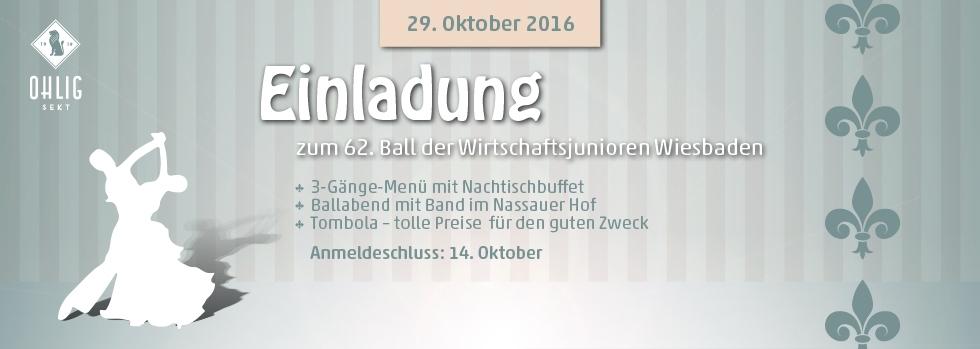 62. Ball der Wirtschaftsjunioren Wiesbaden